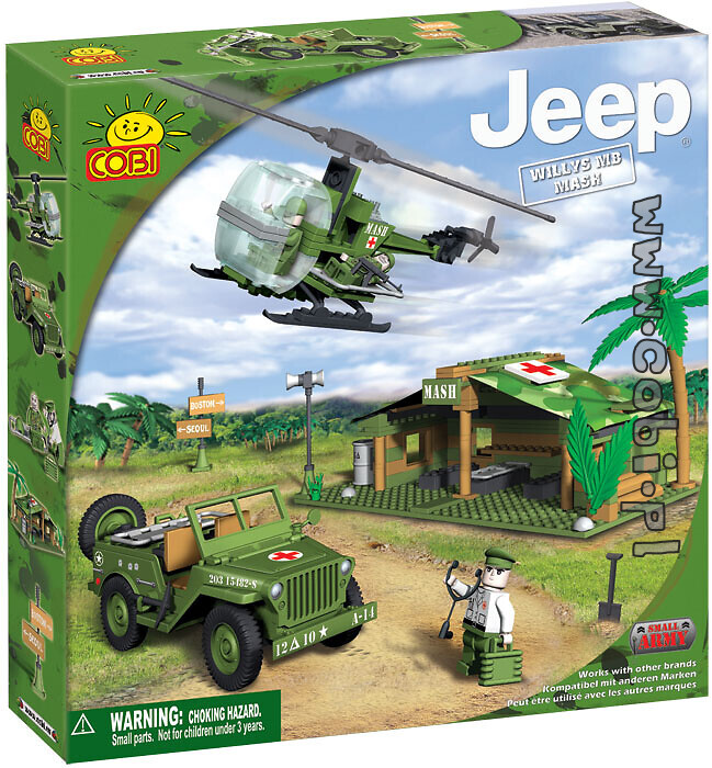 Jeep Willys MB Mash Small Army Cobi 24300