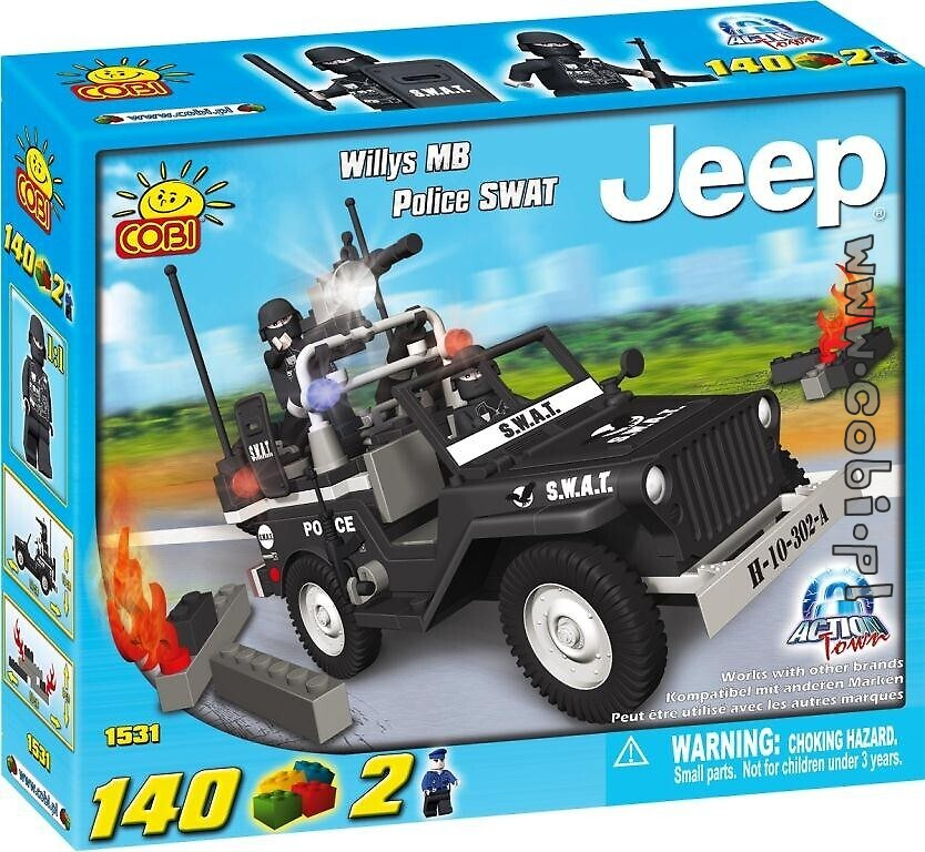 Jeep Willys MB Police SWAT COBI-1531