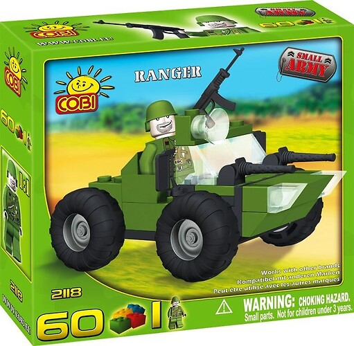 Ranger Small Army Cobi 2118