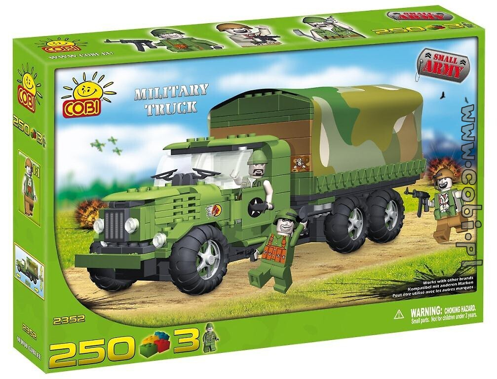 Military Truck Small Army Cobi 2352