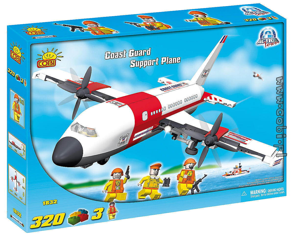 Support Plane Coast Guard Action Town COBI-1832