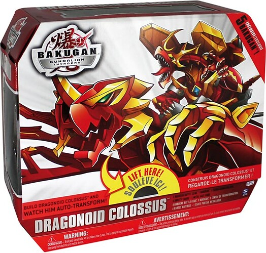Dragonoid Colossus Gundalian Invaders SPIN-34361