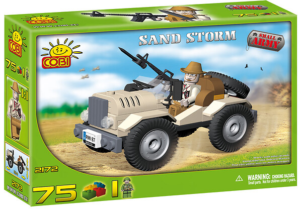Sand Storm Small Army Cobi-2172