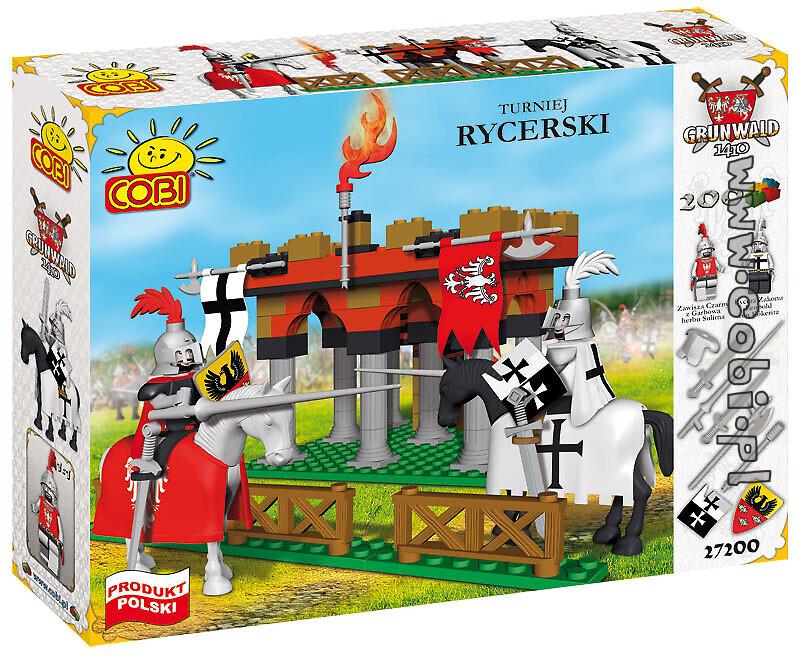 Produkt Archiwalny Turniej Rycerski Klocki Cobi Grunwald 1410