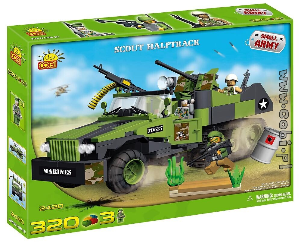 Scout Halftrack Small Army Cobi 2420