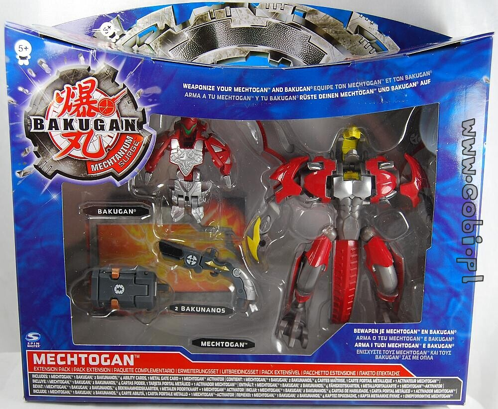 Mechtogan Expension Bakugan Seria 4 Mechtanium Surge