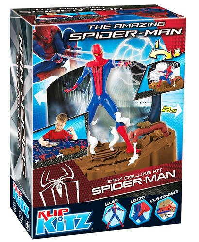 Spider Man 2 w 1 Deluxe Kit