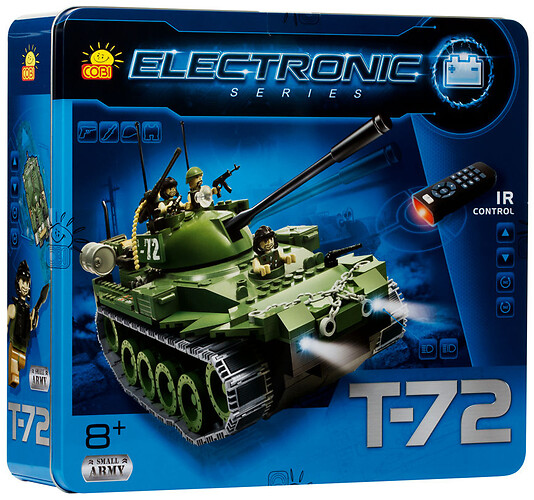 Czołg Electronic T-72 Small Army 21900