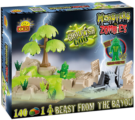 Bestia z Bagien  Cobi-28140 Monsters Vs Zombies