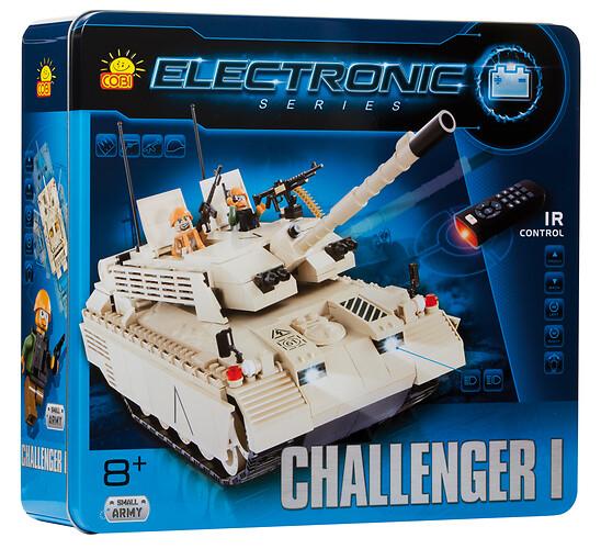 Czołg elektroniczny Challenger I