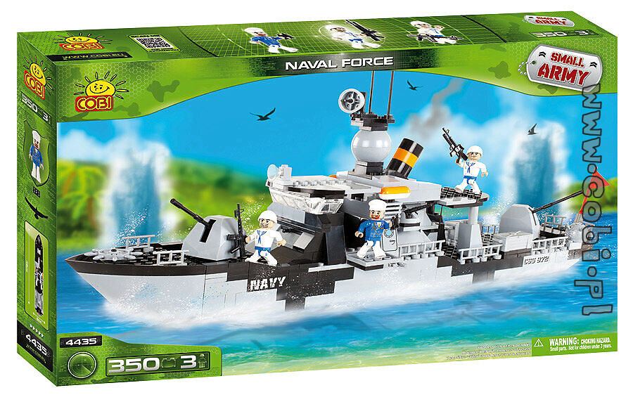 Cobi-4435 Naval Force Small Army