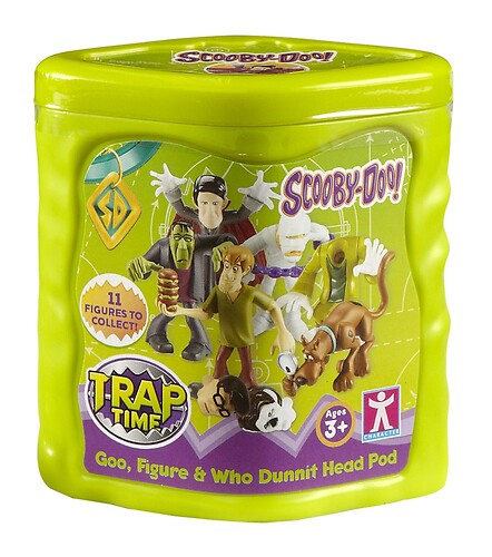 Scooby doo Figurka + glut Trap Time