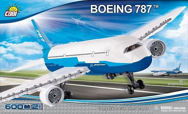 klocki konstrukcyjne Boeing 787™ Dreamliner™