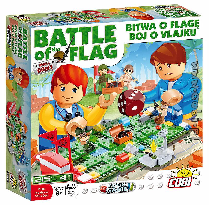 Bitwa o flagę - gra klockowa Small Army