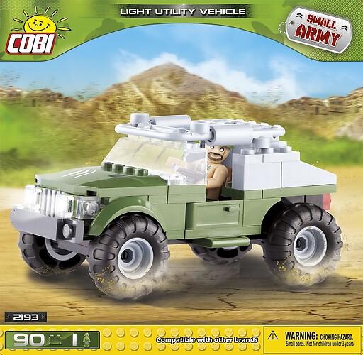 Lekki pojazd wojskowy
