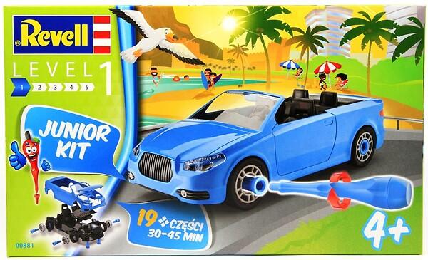 samochody dla chłopców - Samochód kabriolet