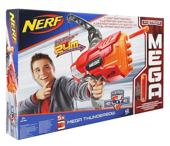N-Strike Mega Thunderbow NERF