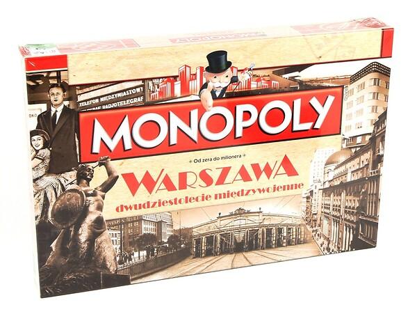 Monopoly Warszawa Retro