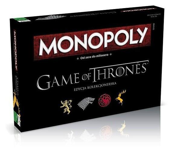 Monopoly - Gra o tron