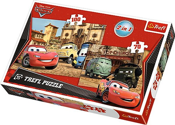 Cars Puzzle 2w1