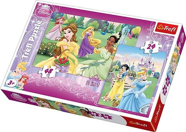 Trefl, Puzzle Princess 2w1, 3+