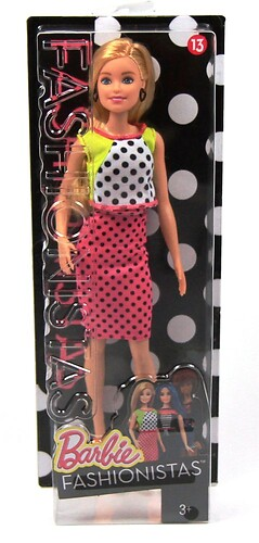 Barbie Fashionistas DGY54