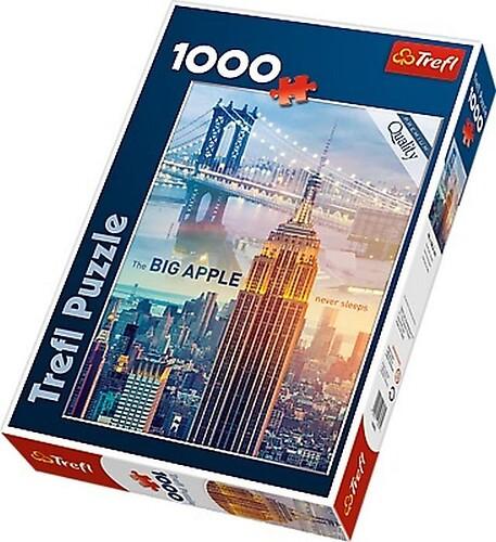 Puzzle Nowy Jork o świcie 1000 el.