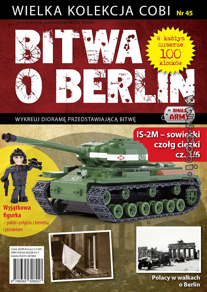IS-2M cz. 1/6 - Bitwa o Berlin nr 45