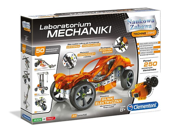 Laboratorium Mechaniki - Clementoni 60595