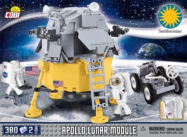 Klocki Smithsonian - Apollo 11 Lunar Module