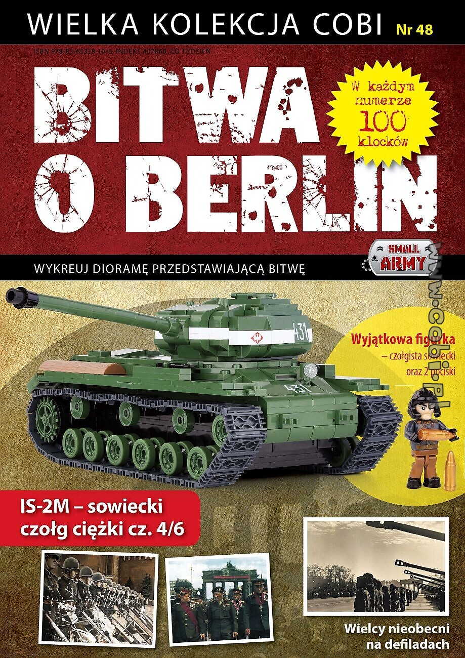 IS-2M cz. 4/6 - Bitwa o Berlin nr 48