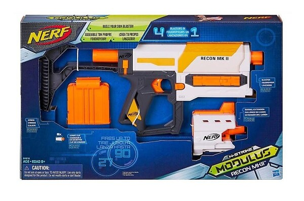 Pistolet nerf Modulus Recon Mk II Nerf