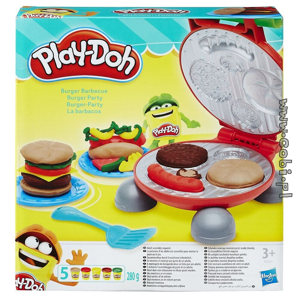 Hamburgery Play Doh