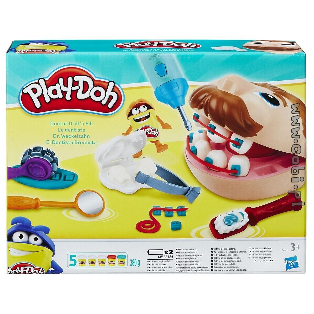 Dentysta Play Doh