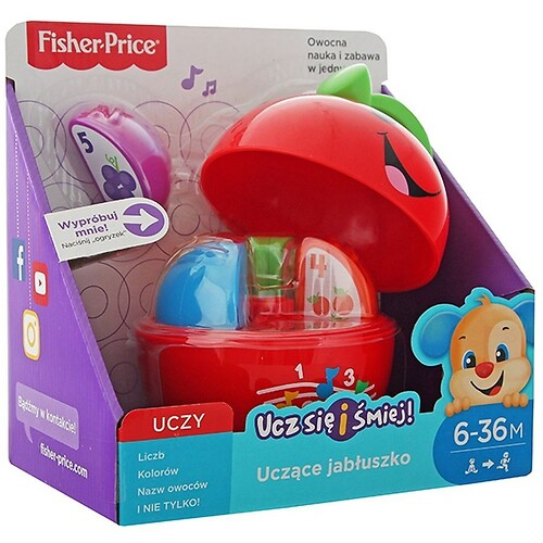 Uczące jabłuszko Fisher Price