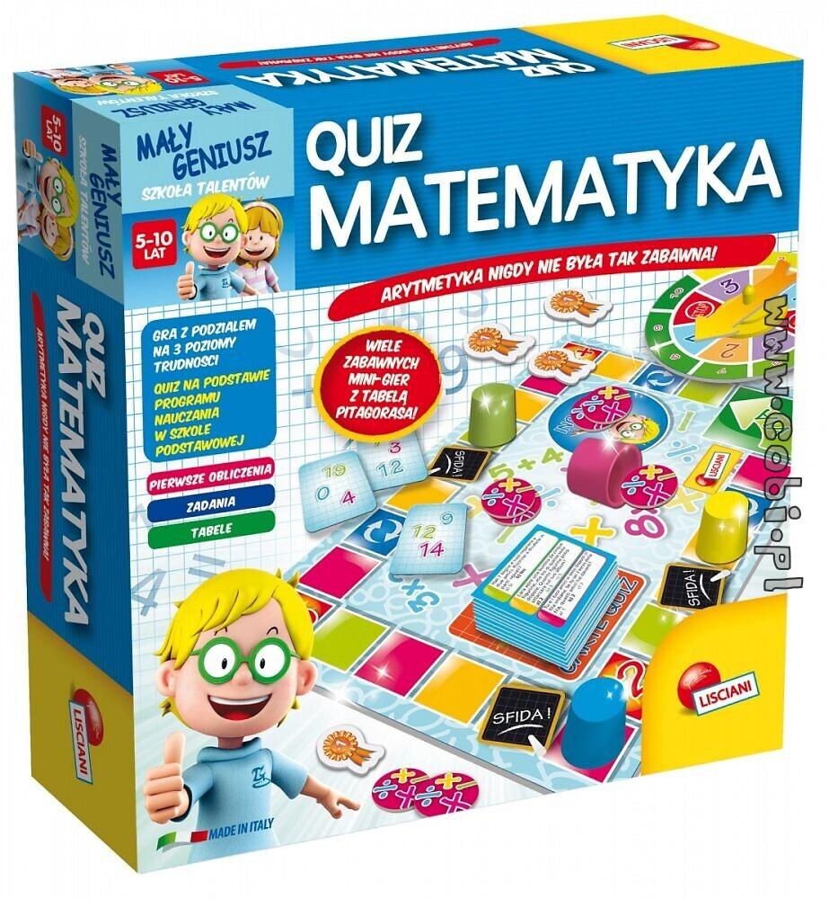 Mały Geniusz Quiz - Matematyka