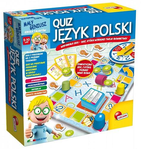 Mały Geniusz Quiz - Język Polski