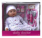 Lalka Bobas Dolly Doctor Dolls World 46 cm