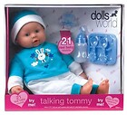 Lalka Bobas Talking Tommy Dolls World 46 cm...