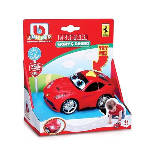 """Ferrari Samochód """"Światło i Dźwięk"""""""