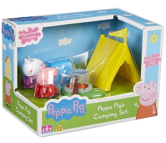 Świnka Peppa Kemping + Figurki