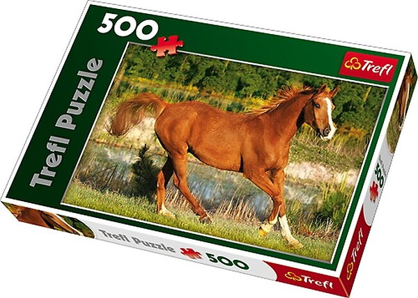 Trefl, Puzzle Piękno Galopu 500 el., 11+