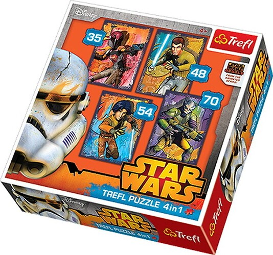 Puzzle Star Wars 4w1
