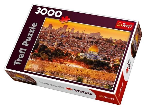Puzzle Dachy Jerozolimy 3000 el.