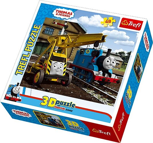 Thomas & Friends 48 el. Puzzle 3D