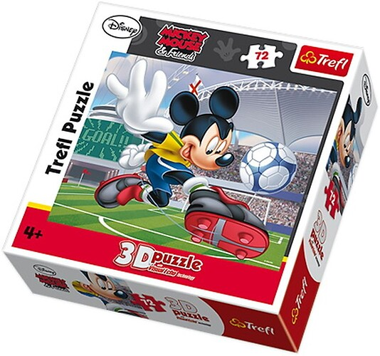Puzzle 3D Myszka Miki 72 el.