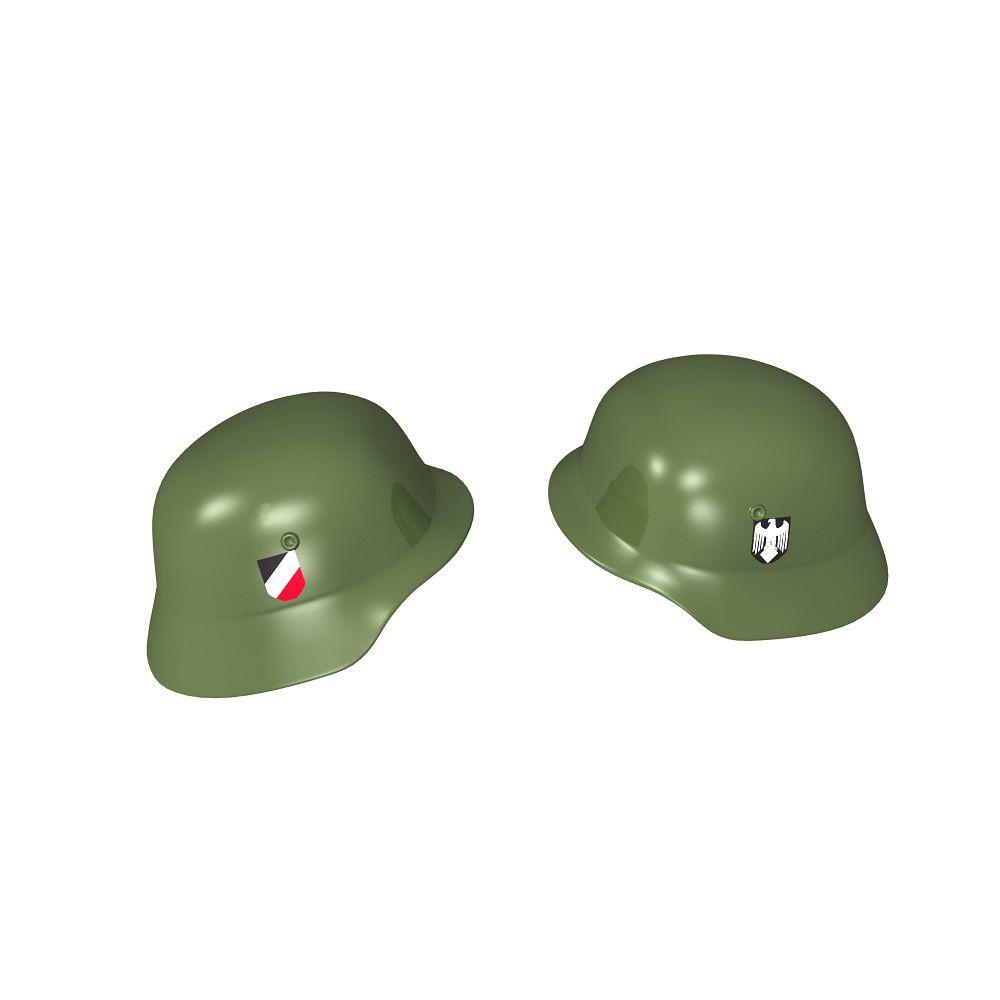 Stahlhelm - niemiecki hełm wojskowy z nadrukami