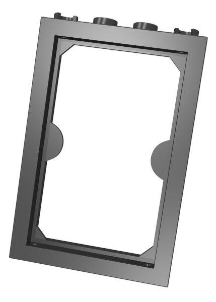 Futryna drzwi czarna