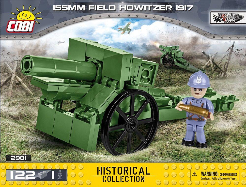 155 mm field howitzer 1917 - francuska haubica