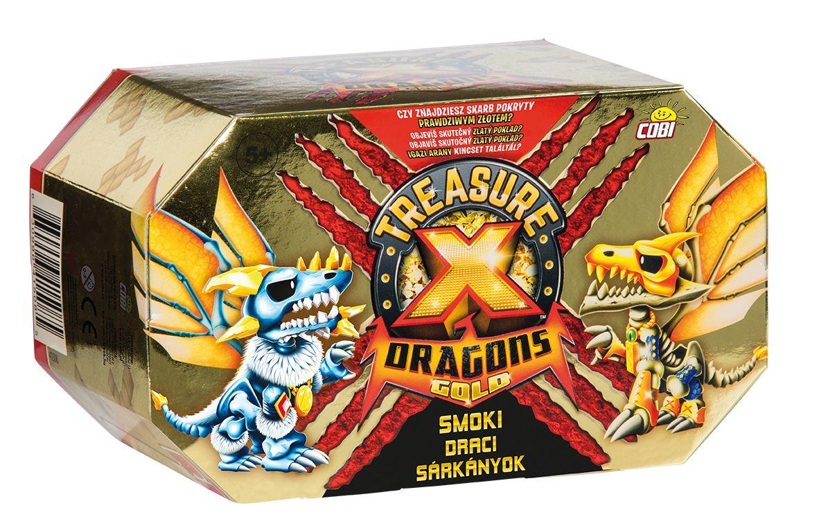 Smok treasure x dragons gold zestaw pojedynczy s2